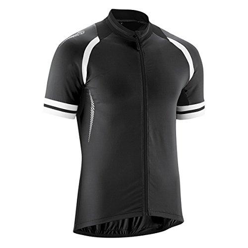 Gonso Übergrößen Rad-Trikot Dean schwarz-weiß, XL Größe:2XL