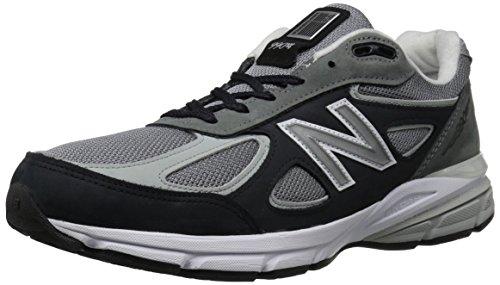 New Balance M990-bk4-d - Zapatillas Deportivas para Hombre, Color Verde Oscuro y Negro, Color Gris, Talla 47.5 EU
