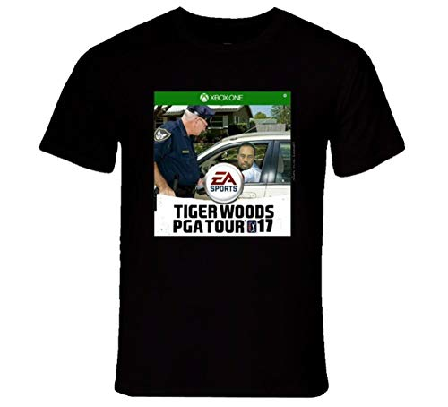 Tiger Woods PGA Tour Videogame Funny Most Wanted T Shirt