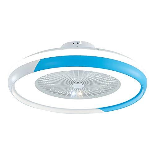 CXSMKP Deckenventilator Mit Fernbedienung Mit 60 cm Durchmesser, Deckenventilator Mit LED-Beleuchtungsset, 3-Farben-Temperaturschalter, 3-Gang, Inkl. Handbedienung + Fernbedienung,Style 5