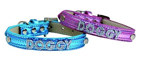 Freedog Collar Brightdoggy Azul 10mm
