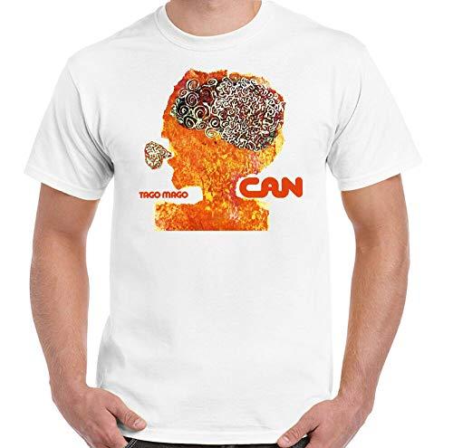 HongXia Can TAGO Mago T-Shirt Mens Krautrock German Unisex Top Album Artwork