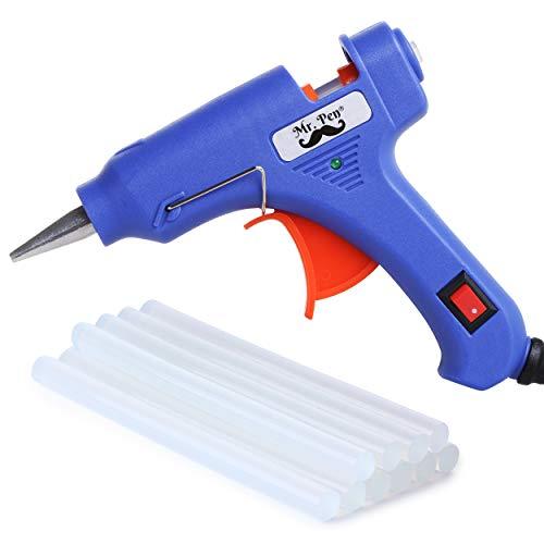 Mr. Pen- Glue Gun, Hot Glue Guns, with 10 Glue Gun Sticks, Glue Gun Kit, Mini Glue Gun, Mini Hot Glue Gun, Hot Melt Glue Gun, Craft Glue Gun, Hot Glue Gun with Glue Sticks, Small Glue Gun, Gun Glue