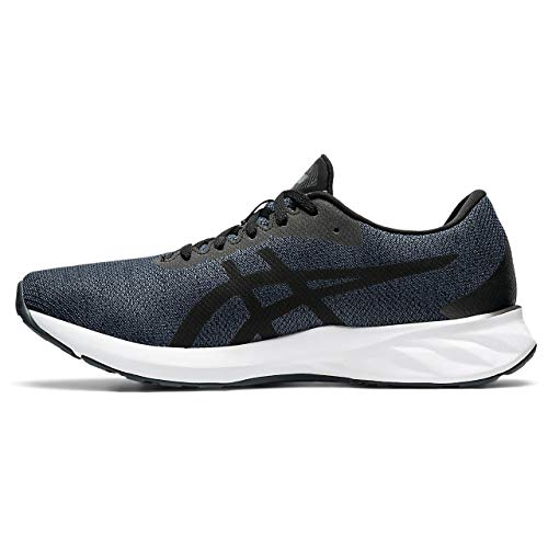 ASICS Mens Roadblast Running Shoe, Black/Carrier Grey,44 EU