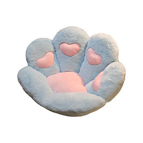 Minear Cute Seat Cushion, Cat Paw Shape Sofa Plush Seat Cushion, Office Chair Cushion, Soft Comfortable Cushion Home Bedroom Decoration Cushion