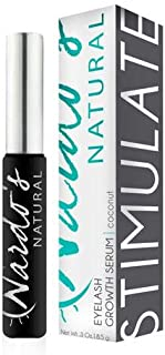 All Natural Eyelash & Eyebrow Growth Serum for Long, Luscious Lashes and Healthy Eyebrows by Nardo's Natural AS SEEN ON SHARK TANK