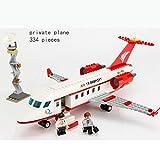GXT Modelos de niño y niña Rompecabezas de Montaje de aeronaves Puzzles y la inserción de pasaje de Gran tamaño de Montaje de Aviones Concentración (Color : Private Plane)