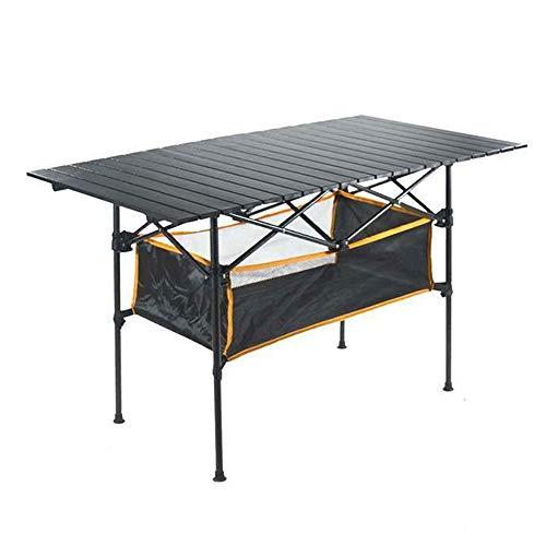 Opvouwbare Tafel - Rechthoekige Eenvoudige Eettafel Buiten Aluminium Kleine Tafel Vrije tijd Inklapbare Draagbare Ultra Licht Camping Tafel