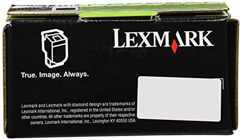 Lexmark 801SM Magenta Standard Yield Return Program Toner Cartridge for Lexmark CX510DE, CX410DE, CX410E, CX510DHE, CX510DTHE, CX410DTE, CX310DN, CX310N 80C1SM0 OEM