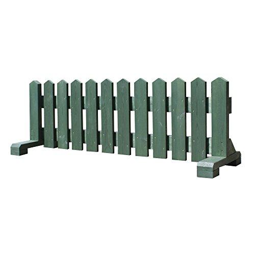 木製 ペット フェンス 幅150cm -グリーン- 【受注製作】 小型犬用 サークル 手作り ウッドフェンス 犬 ペット 屋外 仕切り ゲート 飛び出し防止
