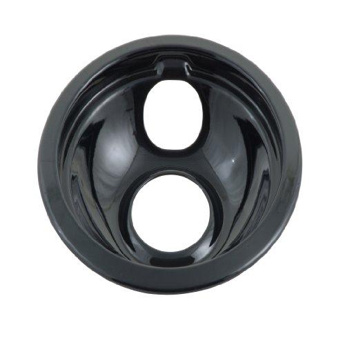 Whirlpool - tazón y Anillo universales, Color Negro, 15.24 cm, Negro