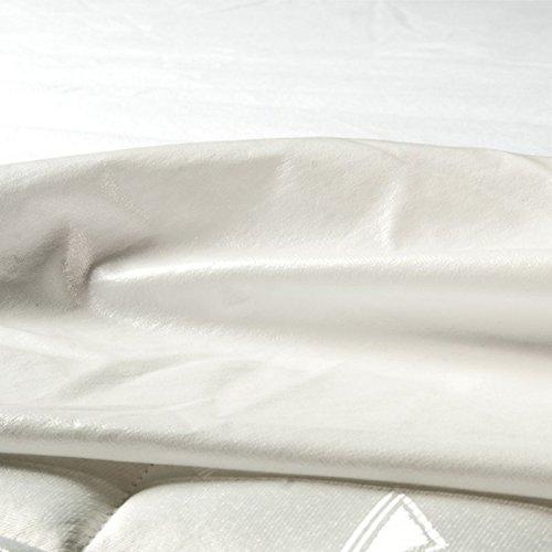 Castejo Jersey Matratzenschutzbezug mit rundum Gummi für TOPPER verschiedene Größen Höhe 5-7cm, Nässeschutz, Matratzenschoner, Hygieneschutzbezug mit PU Beschichtung, Inkontinenz, CA74 (180x200 5-7cm)