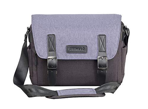 Cullmann Bristol Maxima 322+ Kameratasche im Messenger-Stil mit Tablet-Fach, Farbe blau