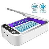 LJYLF Portable Stérilisateur Téléphone avec Fonction d'aromathérapie, Désinfecteur pour Téléphone Portable, Téléphone Intelligent, Téléphone Portable, Brosse à Dents, Montre