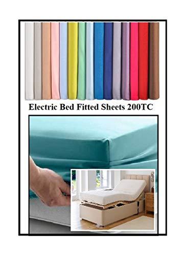 Bedtime Comforts Ltd Cama eléctrica de 2 pies 6 pulgadas x 6...