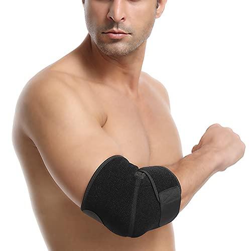 Bartholomew Tutore per gomito, regolabile da tennis, traspirante, traspirante, per giocatori di golf, tendinite, tendiniti
