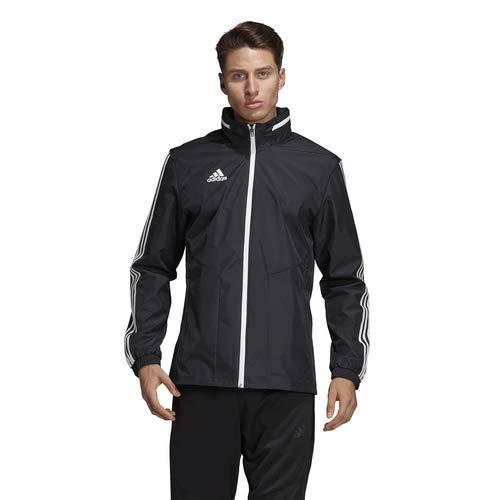 adidas Tiro 19 All-Weather Jacket - Men's Soccer 2XL Black/White