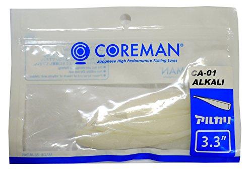COREMAN(コアマン) ワーム ルアー CA-01アルカリ #029 スーパーホワイト