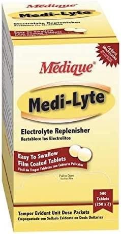 Medique Products 03013 Electrolyte Tablets Cram for Potassium Colorado Springs Mall w Popular popular