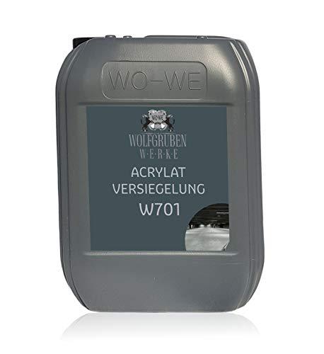 Acrylat Versiegelung W701 Abschluss Bodenversiegelung für W700 Bodenfarbe - 5L