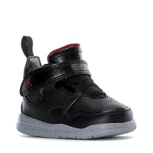 NIKE Jordan Courtside 23 (TD) Baby-Boys Fashion-Sneakers AQ7735-023_5C - Black/Gym RED-Particle Grey