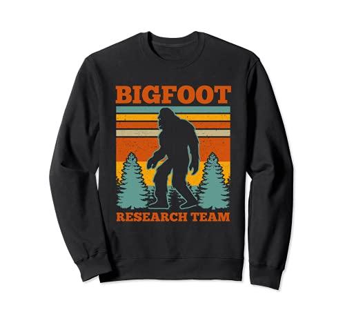 Bigfoot Equipo de Investigación Bigfoot Sasquatch Funny Bigfoot Sudadera