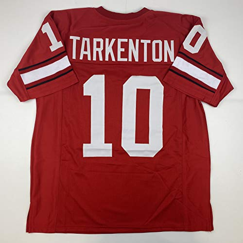 Unsigned Fran Tarkenton Georgia Red Custom Stitched College Football Jersey Size Men's XL New No Brands/Logos