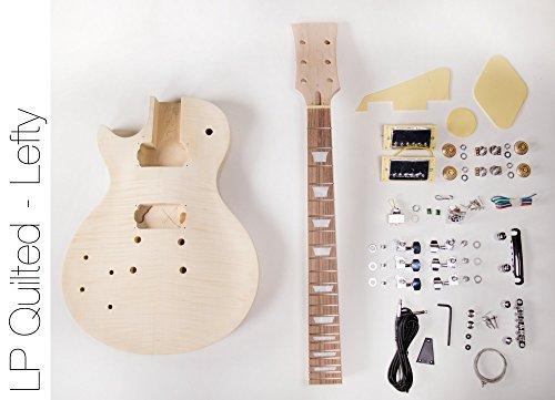 DIY Electric Guitar Kit Singlecut Style Build Your Own Guitar Kit - Left Hand