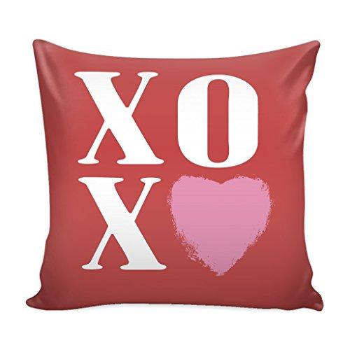Housse de Coussin décorative pour la Saint-Valentin XOXO - 40,6 x 40,6 cm - Décoration Parfaite pour la Maison et Le Cadeau idéal pour Les Femmes, Les Mamans de Moins de 20 $ ! 16\
