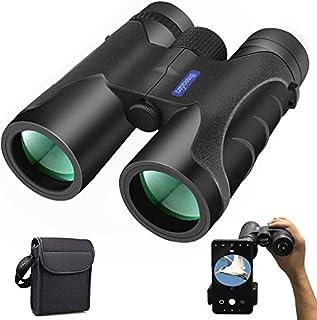 comprar comparacion Prismaticos Profesionales, Nobebird 12x40 HD Binoculares Vision Nocturna, Prismas BAK4 y FMC, Ligero e Impermeable, Observ...