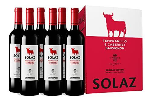 Solaz - Vino Solaz Tinto Tempranillo & Cabernet Sauvignon 4500 ml