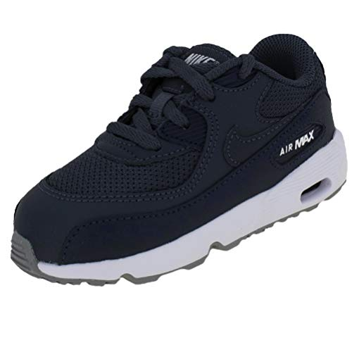 Nike Air Max 90 Mesh (TD), Scarpe da Atletica Leggera Unisex-Bambini, Multicolore (Monsoon Blue/Monsoon Blue/Midnight Navy 000), 26 EU