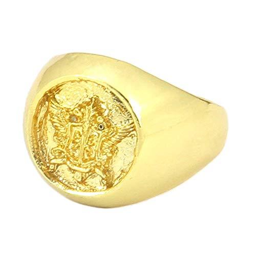 OUTLETISSIMO KUROSHITSUJI RING COSPLAY CIEL PHANTOMHIVE BLACK BUTLER GOLD MANGA ANIME Y20