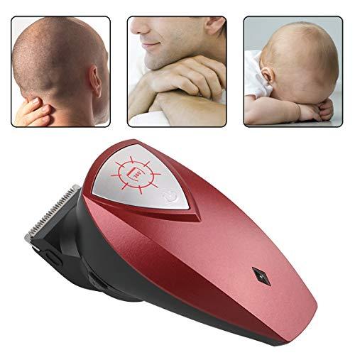 DaMohony - Cortapelos eléctrico para hombre, recargable por USB, con cabezal de recortador giratorio