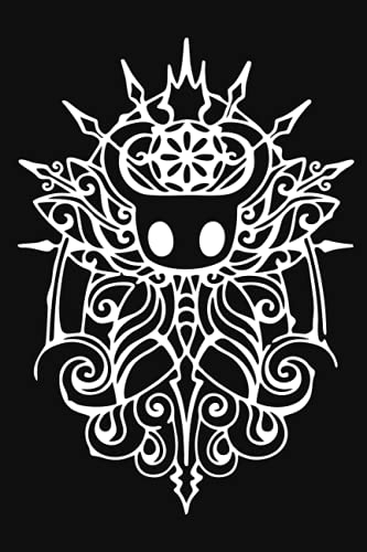 Hollow Knight Tribal Notebook: Minimalist Composition Book | 100 pages | 6' x 9' | Collage Lined Pages | Journal |...