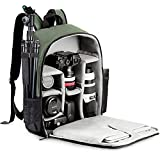CADeN Camera Backpack Bag with Laptop Compartment 15.6' for DSLR/SLR Mirrorless Camera Waterproof,...