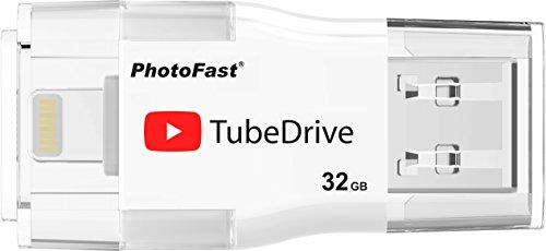 PhotoFast tubedrive 32GB内蔵メモリ