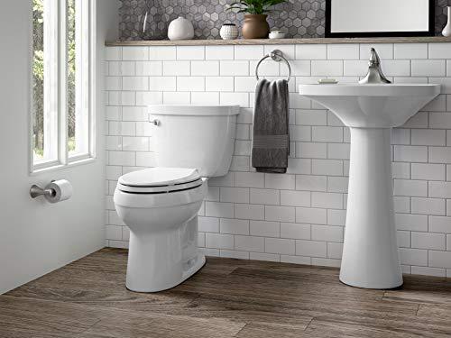 KOHLER K-3609-0 Cimarron Comfort Height Elongated 1.28 GPF Toilet
