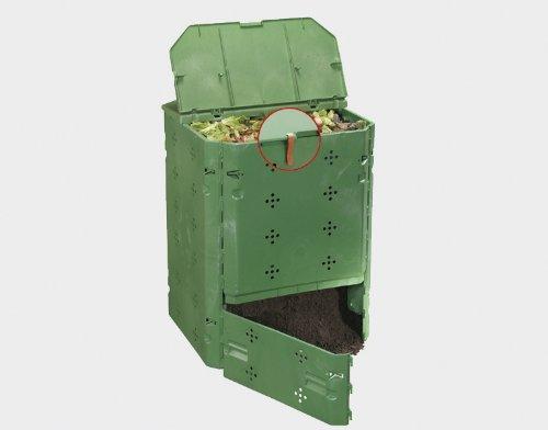 Juwel Ganzjahreskomposter BIO 600 (geschlossener Komposter, UV- und witterbungsbeständig, Nutzinhalt: 600 l) 20153