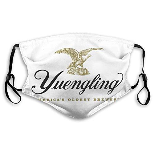 123456789 Yuengling Beer Logo Mundgesichtsabdeckung Kopftuch Nahtloser wiederverwendbarer Außenschal mit austauschbarem Filter