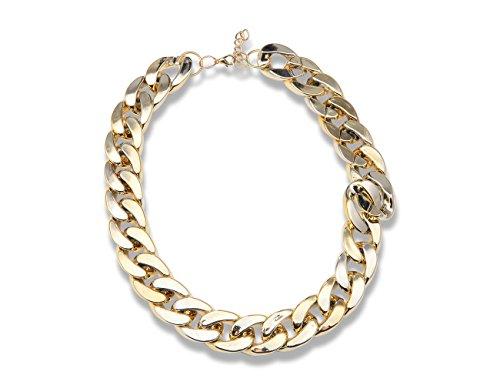 Enez XXL Damen Kette Halskette Necklace Choker Collier B:2cm L: 50cm R532