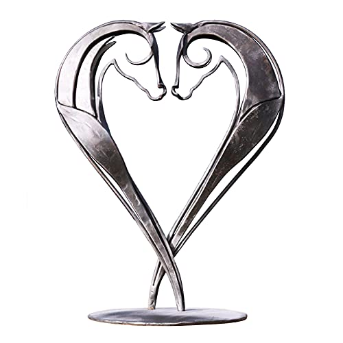 Estatua de resina, escultura de hengst para decoracin del hogar, decoracin de mesa, decoracin de metal, estatua de caballo, decoracin para el hogar, oficina, restaurante