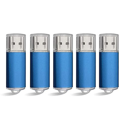 YUTRD ZCJUX 5 Confezioni da 1 GB 2 GB 4 GB 8 GB 32 GB 64 GB USB 2.0 Flash Drive Thumb Drive Memory Stick (Capacity : 8GB)