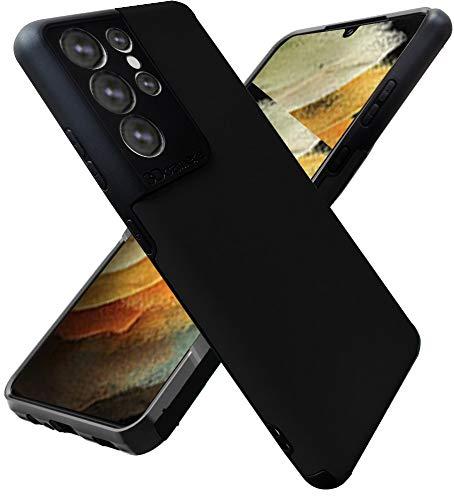 Funda para teléfono Samsung Galaxy S21 Ultra 5G, Folmecket goma TPU, flexible, absorción de golpes, para Samsung S21 Ultra 5G, 6.8