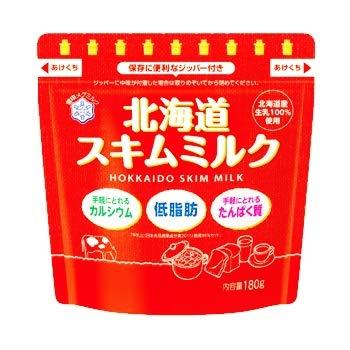 雪印メグミルク 北海道スキムミルク 180g×12袋入×(2ケース)