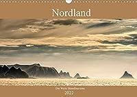 Nordland - Die Weite Skandinaviens (Wandkalender 2022 DIN A3 quer): Die pure Natur der skandinavischen Landschaft im Bild miterleben, das zeigt dieser Kalender. (Monatskalender, 14 Seiten )