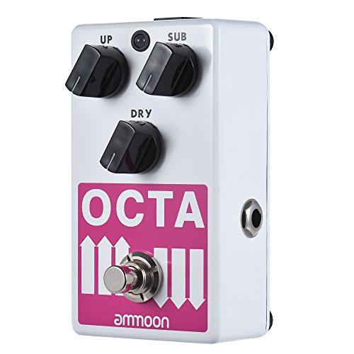 ammoon Octave Pedal OCTA Electric Guitar Precise Polyphonic Octave...
