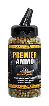 GameFace U-SAP2000 Premier Ammo .12-Gram Camo Airsoft BBs  2000-Count