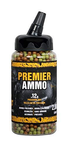 GameFace U-SAP2000 Premier Ammo .12-Gram Camo Airsoft BBs (2000-Count)