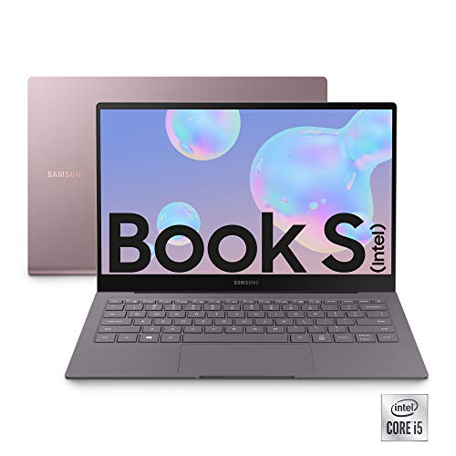 "Samsung Galaxy Book S (Intel), Portatile Wi-Fi 6 Windows | 10 Home, Display Touch Screen 13.3"" FHD LCD, Batteria 42Wh, RAM 8GB, Memoria 512GB UFS, Lettore Impronte Digitali, Gold, [Versione Italiana]"